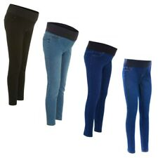 Maternity New Look Under Bump Jeggings Jeans Sizes 8 - 20 Leg 24 - 30