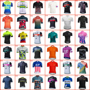 Summer Mens Cycling Jersey Short Sleeve Bike Shirts Racing Tops Bicycle Outfits