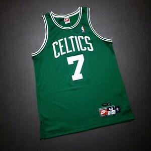 100% Authentic Kenny Anderson Vintage Nike Celtics Jersey Size 40 M Mens