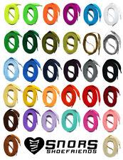 LACCI PIATTI colorato 60-240cm laccio poliestere per scarpe sneaker SNORS