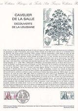 Document Philatélique Timbre 1er Jour : 18/12/ 1982 - Cavelier de la Salle