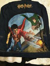 Warner Brothers Blue Harry Potter Backpack Howarts Games
