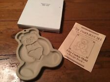 Pampered Chef TEDDY BEAR Cookie Mold               #58/150