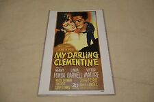 "VINTAGE REPRODUCTION 17 X 11"" MOVIE POSTER - MY DARLING CLEMENTINE - W/ SLEEVE"