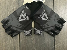 Reebok Fitness Training Weight Lifting Fingerless Gloves Camo Size Small NWT