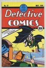 BATMAN # 37 - FLIP-COVER GERMAN REPRINT DETECTIVE COMICS No. 27 - DINO VERLAG