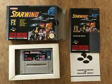Starwing - Super Nintendo SNES NES game PAL UK Complete