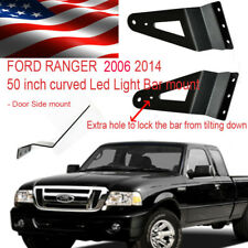 Ford Ranger 2006 2016 led light bar brackets for 50 inch curved side mount