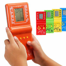 LCD Game Electronic Vintage Classic TETRIS Brick Handheld Arcade Pocket Toy