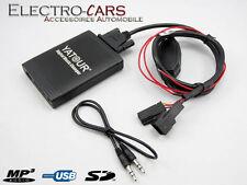 INTERFACE MP3 USB AUDIO AUTORADIO COMPATIBLE BMW X5 2000 à 2005