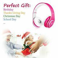 Kinder Kopfhörer Bluetooth Wireless Sport Stereo Headset Faltbare On-Ear