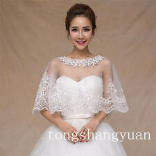 Free Shipping Cheap Wraps Crystals Sequin Bridal Wedding Bolero Jackets In Stock