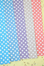 Colorful Polka Dots Cardstock 250gsm fancy card stock wedding craft postcards