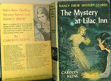 NANCY DREW The Mystery at Lilac Inn by Carolyn Keene (1961) Grosset & Dunlap HC