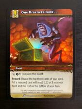 World of Warcraft WoW TCG Goblins of Anarchy Promo Set Power Time Cunning Money