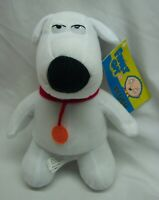"Family Guy BRIAN THE DOG 7"" Plush Stuffed Animal TOY NEW w/ Tag"