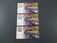 VTG 1998 Atlanta NAPA 500 Nascar 3 Ticket Stubs JEFF GORDON Auto Car Race Winner