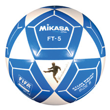 Mikasa FT5A Goal Master Soccer Ball Size 5 Blue/White Official Footvolley Ball