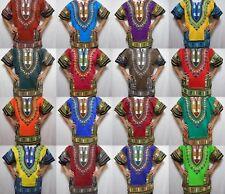 Dashiki African Tribal shirt boho kaftan blouse top - Red