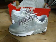 NIKE AIR MAX 90 SE LTR (GS) HASH KIDS BOYS GIRLS SHOES SIZE UK 5 / EUR 38
