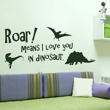 KIDS WALL STICKERS! Childs Bedroom Sticker, Nursery Quote transfer big art decal
