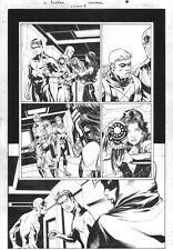 Titans #8 p.7 Everyone; Great Portraits, Howard Porter Comic Art