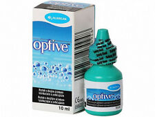 OPTIVE Lubricating Dry Eye Drops 10ml Allergan