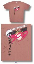 300 MOVIE PREPARE FOR GLORY CLIFF BROWN T-SHIRT SMALL NEW LICENSED