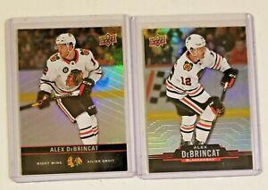 Alex DeBrincat Chicago Blackhawks Upper Deck Tim Horton's 2 NHL hockey card lot