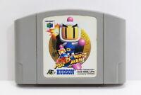 Baku Bomberman N64 NINTENDO 64 Japan Import US Seller E1582