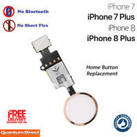 iPhone 7 Complete Home Button Replacement NO Bluetooth Required ROSE GOLD