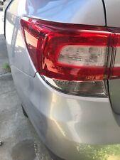 Subaru Impreza 2016 2017 Left Hand Outer Tail Light Indicator Brake Taillight