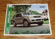 Original 2004 Ford Explorer Sales Brochure 04 NBX XLS XLT