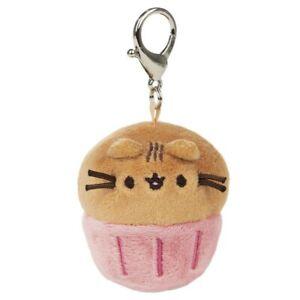 GUND Pusheen Blind Box Series 16 Catfe Pusheen Cat Muffin Cupcake Plush Keychain
