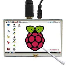 5 pulgadas Pantalla tactil LCD HDMI Raspberry Pi 3 Monitor HDMI pantalla LC F1C7