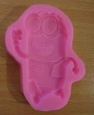 CARTOON DESPICABLE ME MINIONS  SILICONE BAKING DECORATION MOLD