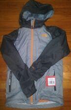 Northface Jacket Boys Size 10/12 medium Orange And Gray