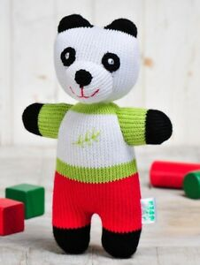 Freia Eco Friendly Handmade Plush Toy Panda Stuffed Animal