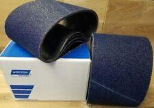 "Norton Bluefire Sanding Belts 7-7/8"" x 29-1/2"" Hummel Box/10 Belts"