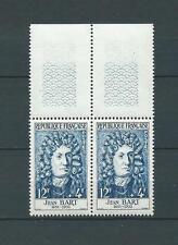 CÉLÉBRITÉS - 1958 YT 1167 paire - TIMBRES NEUFS** LUXE