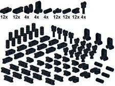 Lego - Technic - Small Parts - M27 - Verbinder (Schwarz)