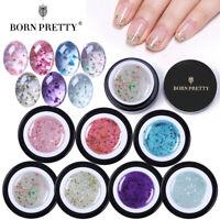 BORN PRETTY 5Bottles Natural Flower Fairy UV Gel Nail Polish Soak Off Gel Kits