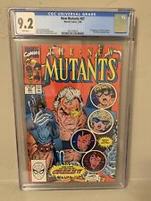 The New Mutants #87 CGC 9.2 NM- First Appearance Cable
