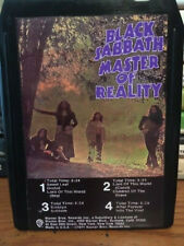 "BLACK SABBATH ""MASTER OF REALITY"" 8 TRACK TAPE - CUSTOM LABEL"