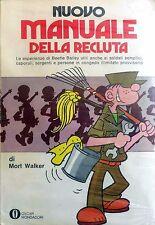 OSCAR MONDADORI NUOVO MANUALE DELLA RECLUTA MORT WALKER 1973 FUMETTO