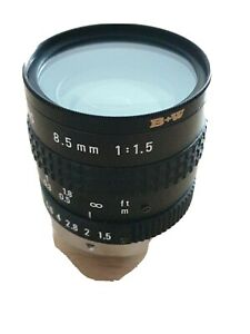 PENTAX TV Lens  8.5mm 1:1.5 C-Mount CCTV Objektiv