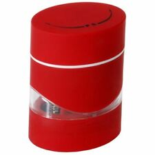 Zuhause - Duo 2 in 1 Salt and Pepper Mill 10.5cm Red
