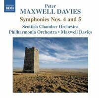 Scottish Chamber Orchestra - Maxwell Davies: Symphonies No. 4 and 5 [CD]