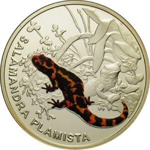"POLAND 2009 Symbols of Nature"" Salamander"""