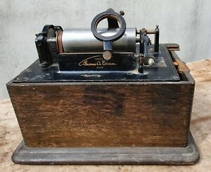 Edison Standard Phonograph Model for spares or repairs RESTORATION